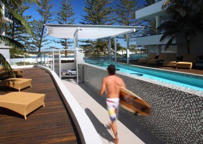 Rumba Resort Head to the Beach