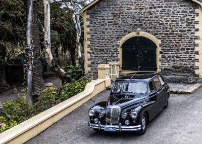 Barossa Daimler Tours Parked