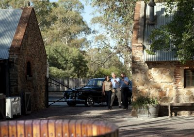 Barossa Daimler Tours Rockford Winery